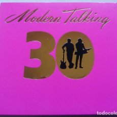 CDs de Música: MODERN TALKING. 30. CD DOBLE SONY MUSIC 88875 00825 2. GERMANY 2014. HITS REMASTERED.. Lote 103777455