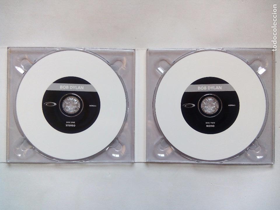 CDs de Música: BOB DYLAN. THE FIRST ALBUM. CD DOBLE ART OF MUSIC AOM012. E.U. 2014. STEREO VERSION + MONO VERSION. - Foto 3 - 103779175