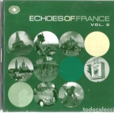 CDs de Música: DOBLE CD ECHOES DE FRANCE: FRANÇOISE HARDY, SERGE GAINSBOURG, JACQUES BREL. EDITH PIAF, TINO ROSSI . Lote 103798459