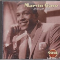 CDs de Música: MARVIN GAYE - MIDNIGHT LOVE - SOUL 1 - CBS SONY ALTAYA 1996. Lote 103808327
