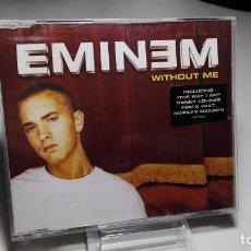 CDs de Música: CD - MUSICA - SINGLE/ MAXI - EMINEM ?– WITHOUT ME –- 4 TEMAS . Lote 103815115