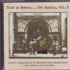 CDs de Música: THIS IS BOSTON...NOT AUSTIN VOL.2 EDICION USA DEL 97 DOBLE CD. Lote 103819811