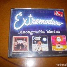 CDs de Música: CD : TRIPLE CD : EXTREMODURO : DISCOGRAFIA BASICA EXCELENTE ESTADO. Lote 103821307