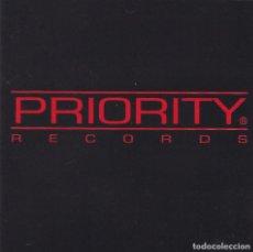 CDs de Música: PRIORITY RECORDS COMPILATION.VARISO TODO HIP HOP MENOS 3 TEMAS EDICION ESPAÑOLA DEL 95. Lote 103821527