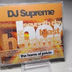 CDs de Música: CD - MUSICA - SINGLE/ MAXI - DJ SUPREME – THA HORNS OF JERICHO –- 6 TEMAS . Lote 103823259