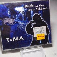 CDs de Música: CD - MUSICA - SINGLE/ MAXI - T»MA A.K.A. FALCO – MUTTER, DER MANN MIT DEM KOKS IST DA. –- 5 TEMAS . Lote 103823335