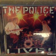 CDs de Música: THE POLICE LIVE. Lote 103823855