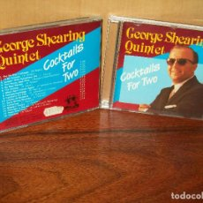 CDs de Música: GEORGE SHEARING - QUINTET - COCKTAILS FOR TWO - CD . Lote 103838127