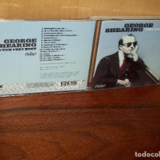 CDs de Música: GEORGE SHEARING - THE VERY BEST - CD 15 CANCIONES . Lote 103838191