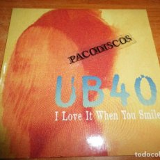 CDs de Música: UB 40 I LOVE IT WHEN YOU SMILE CD SINGLE PROMO ESPAÑA DEL AÑO 1997 PORTADA DE CARTON 1 TEMA UB40. Lote 103864487