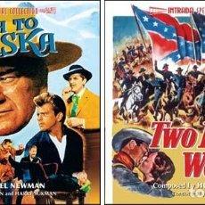 CDs de Música: TWO FLAGS WEST + NORTH TO ALASKA / HUGO FRIEDHOFER Y LIONEL NEWMAN / ORIGINAL SOUNDTRACK CD / BSO. Lote 103865843