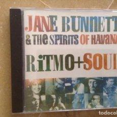 CDs de Música: JANE BUNNETT & THE SPIRITS OF HAVANA. RITMO + SOUL. Lote 103868683