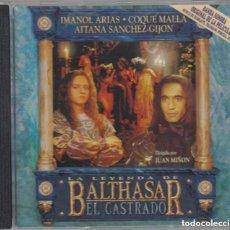 CDs de Música: LA LEYENDA DE BALTHASAR EL CASTRADO / MARIO DE BENITO / ORIGINAL SOUNDTRACK CD / BSO EDEL. Lote 103868811