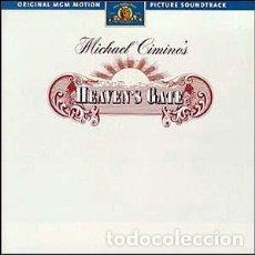 CDs de Música: HEAVEN'S GATE - LA PUERTA DEL CIELO / MUSIC BY DAVID MANSFIELD / ORIGINAL SOUNDTRACK CD / BSO . Lote 103869399