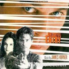 CDs de Música: UNLAWFUL ENTRY / MUSIC BY JAMES HORNER / ORIGINAL SOUNDTRACK CD / BSO. Lote 103870223