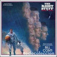CDs de Música: THE RIGHT STUFF - ELEGIDOS PARA LA GLORIA / SCORE DE BILL CONTI / VARÈSE CLUB CD / BSO. Lote 103871523