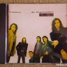 CDs de Música: CATORCE DE SEPTIEMBRE DESEOS PROHIBIDOS CD ALBUM DEL AÑO 1992 SIMILAR HEROES DEL SILENCIO 10 TEMAS. Lote 174076700