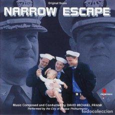 CDs de Música: NARROW ESCAPE / MUSIC BY DAVID MICHAEL FRANK / ORIGINAL SOUNDTRACK CD / BSO. Lote 103873331