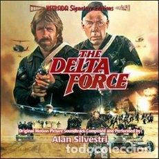 CDs de Música: THE DELTA FORCE / MUSIC BY ALAN SILVESTRI / ORIGINAL SOUNDTRACK CD / BSO INTRADA. Lote 103874259