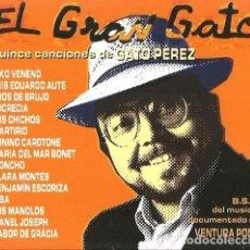 CDs de Música: CD EL GRAN GATO (TRIBUTO GATO PEREZ ) KIKO VENENO, AUTE, LOS CHICHOS, MARTIRIO, SISA, OJOS DE BRUJO . Lote 103874731