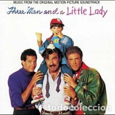 CDs de Música: THREE MEN AND A LITTLE LADY / MUSIC BY JAMES NEWTON HOWARD / ORIGINAL SOUNDTRACK CD / BSO. Lote 103874791