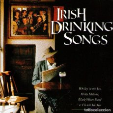 CDs de Música: IRISH DRINKING SONGS - CD ÁLBUM - 14 TRACKS - SPIRIT RECORDS - 2003.. Lote 103875371