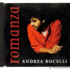 CDs de Música: CD - ANDREA BOCELLI - ROMANZA - 15 TEMAS . Lote 103876519