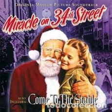 CDs de Música: MIRACLE ON 34TH STREET + COME TO THE STABLE / CYRIL J. MOCKRIDGE / ORIGINAL SOUNDTRACKS CD / BSO. Lote 103876723