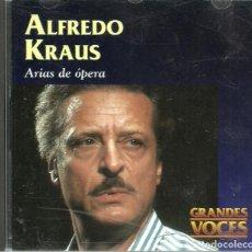 CDs de Música: CD - ALFREDO KRAUS - ARIAS DE OPERA - GRANDES VOCES - 21 TEMAS . Lote 103876843