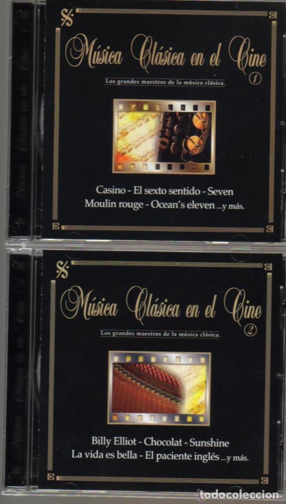 MUSICA CLASICA EN EL CINE - BLACK BOX COLLECTION - CD DOBLE - 22 TEMAS (Música - CD's Bandas Sonoras)