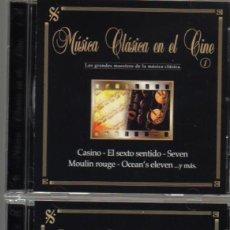 CDs de Música: MUSICA CLASICA EN EL CINE - BLACK BOX COLLECTION - CD DOBLE - 22 TEMAS . Lote 103877191