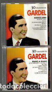 CD DOBLE - CARLOS GARDEL - 30 CANCIONES - EXCELENTE ESTADO DE CONSERVACION (Música - CD's Latina)
