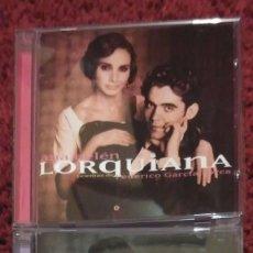 CDs de Música: ANA BELEN (LORQUIANA - POEMAS Y CANCIONES POPULARES DE FEDERICO GARCIA LORCA) 2 CD'S 1998. Lote 103879991