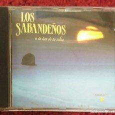 CDs de Música: LOS SABANDEÑOS (A LA LUZ DE LA LUNA) CD 1990. Lote 103880403
