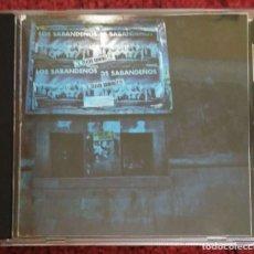 CDs de Música: LOS SABANDEÑOS (EN DIRECTO - TEATRO GUIMERA - STA. CRUZ DE TENERIFE) CD 1987. Lote 103880615