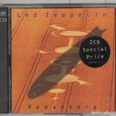CDs de Música: LED ZEPPELIN. REMASTERS. ATLANTIC 1990. CD DOBLE 2. . Lote 103907479