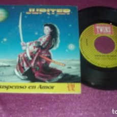 CDs de Música: JUPITER SUSPENSO EN AMOR SINGLE SPAIN 1987 . Lote 103944159