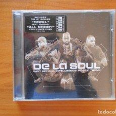 CDs de Música: CD TOMMY BOY - DE LA SOUL - ART OFFICIAL INTELLIGENCE: MOSAIC THUMP (3X). Lote 103957803