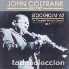 CDs de Música: JOHN COLTRANE QUARTET – STOCKHOLM '62 THE COMPLETE SECOND CONCERT VOL. 1 . Lote 103999787
