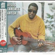 CDs de Música: CLARENCE CARTER - THIS IS... (1968) - CD ATLANTIC NUEVO. Lote 104010339