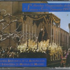 CDs de Música: 2 CD MARCHAS PROCESIONALES SEMANA SANTA ZAMORA 1997. BANDA SINFONICA AGRUP. INFANTERIA MARINA MADRID. Lote 104031035
