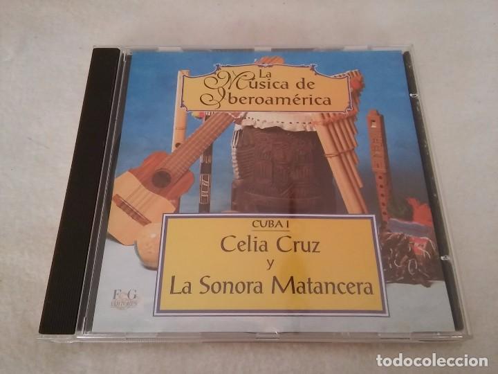 CD DE MUSICA. CUBA I - CELIA CRUZ Y LA SONORA MATANCERA (Música - CD's Latina)