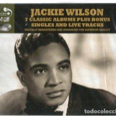 CDs de Música: QUADRUPLE CD BOX JACKIE WILSON ( 7 CLASSIC ALBUMS ) 98 TRACKS . Lote 104043539