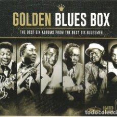 CDs de Música: PACK 6 CD GOLDEN BLUES BOX ( B.B.KING & MUDDY WATERS & HOWLIN' WOLF & JOHN LEE HOOKER & WILLIE DIXON. Lote 104043707