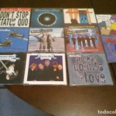 CDs de Música: STATUS QUO - 11 CD SINGLE - DON'T STOP - HEAVY TRAFFIC - PARTY AIN'T OVER YEAT - GREATEST HITS . Lote 104052331