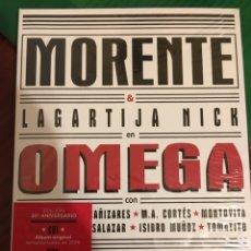 CDs de Música: MORENTE Y LAGARTIJA NICK-OMEGA-20 ANIVERSARIO BOX SET DELUXE-2 CD+DVD+LIBRO PRECINTADO NUEVO. Lote 104069563