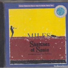 CDs de Música: MILES DAVIS CD SKETCHES OF SPAIN EDICIÓN ESPAÑOLA. Lote 104095427