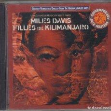 CDs de Música: MILES DAVIS CD FILLES DE KILIMANJARO 1990 CBS EUROPE. Lote 104095983