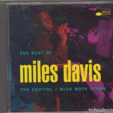CDs de Música: THE BEST OF MILES DAVIS CD 1992 USA THE CAPITOL BLUE NOTE YEARS. Lote 104096143