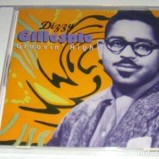 CDs de Música: CD - DIZZY GILLESPIE - GROOVIN' HIGH - NUEVO Y PRECINTADO - MADE IN ENGLAND - DIZZY GILLESPIE. Lote 104118247
